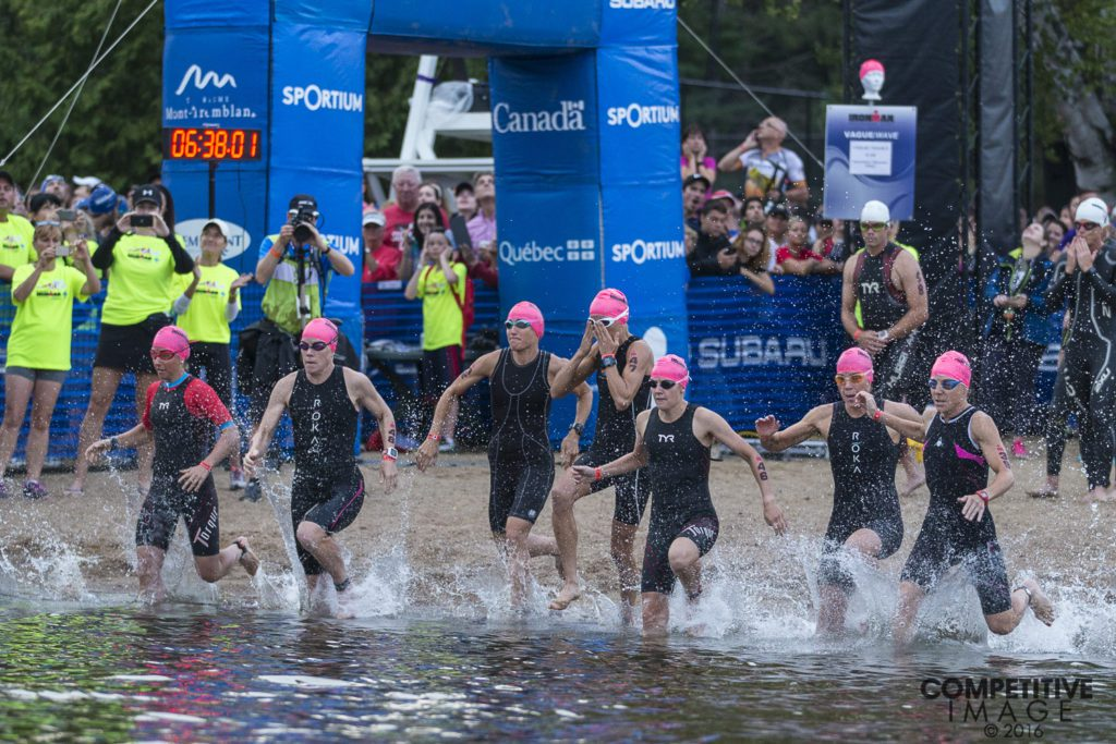 Ironman Mont-Tremblant race day