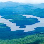 Panaroma of Adirondack Mountains as seen from Whiteface Mountain (Getty Images)