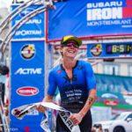 Ironman Mont Tremblant female champ Carrie Lester! (Credit: Kevin Mackinnon)